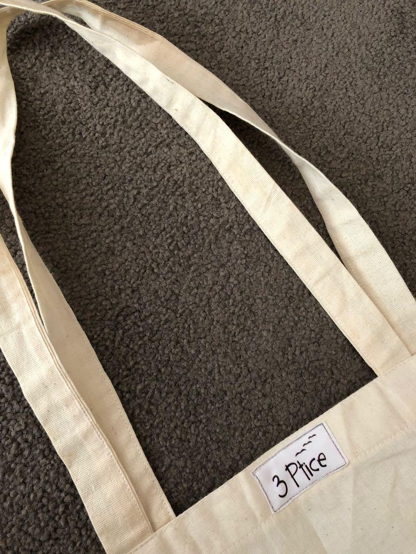 "Eco Friendly ""Ain't No Time..."" Slogan Canvas Tote Bag"