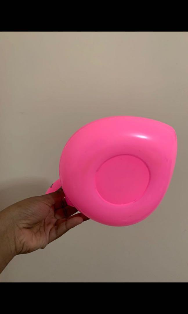 Flamingo Drink Floatie (can also hold makeup sponges)