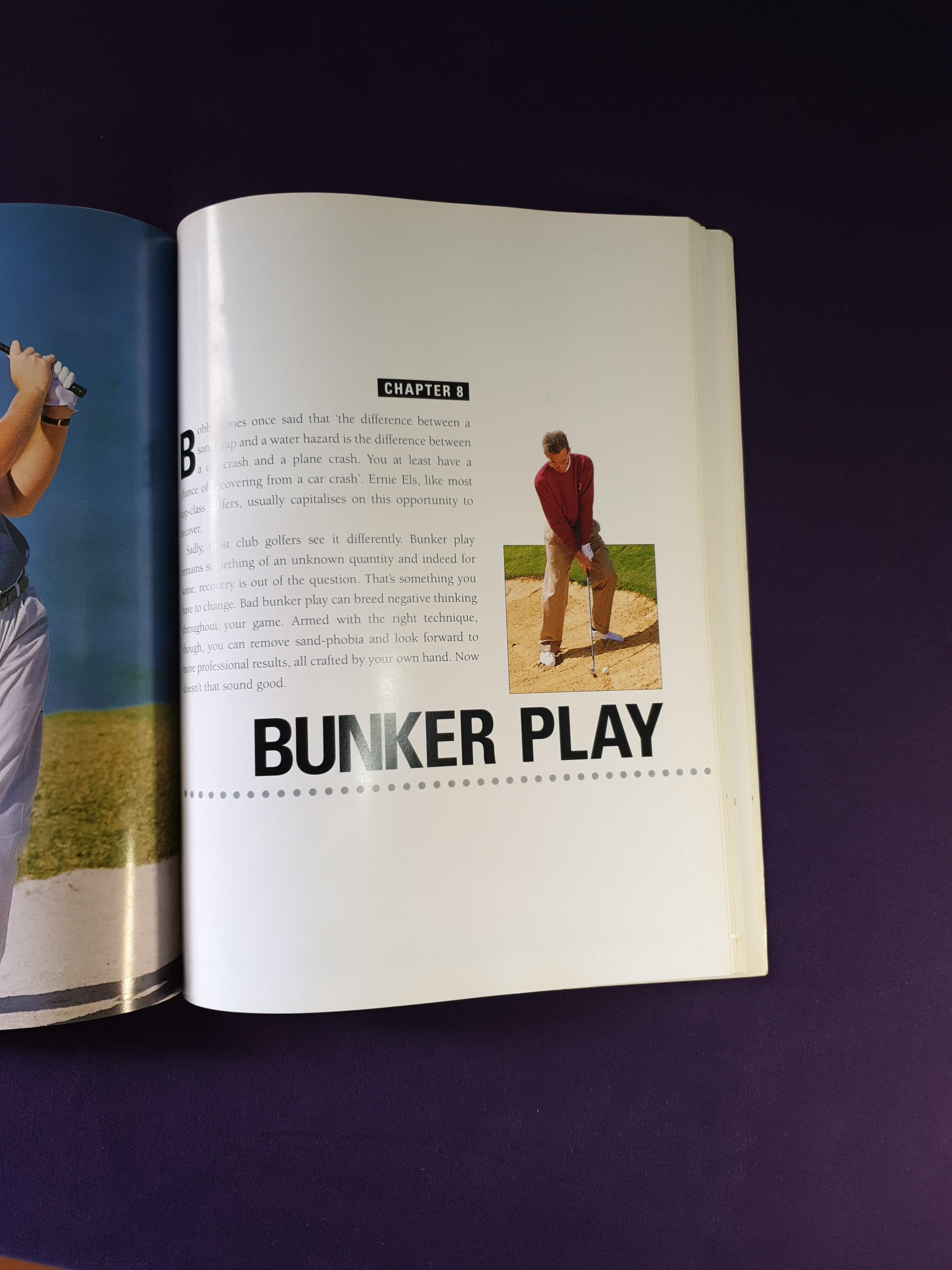 Golf Instructions Book. 160 pages