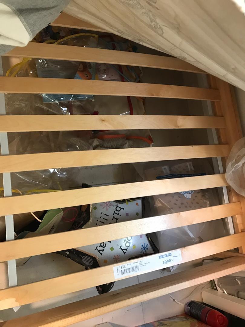 Ikea Single Bed Frame FJELLSE & Tilam