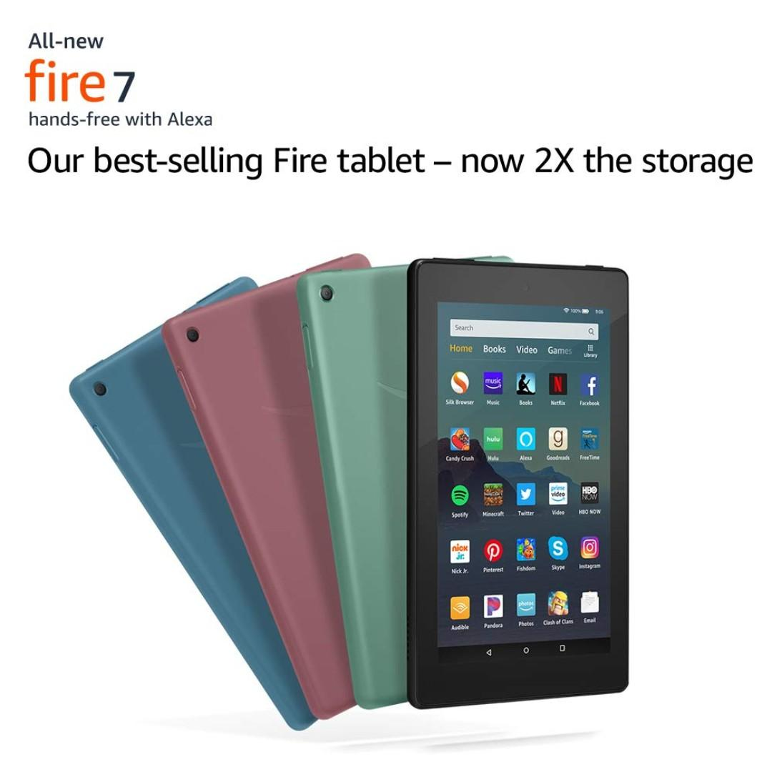 """[In-stock] All-New Fire 7 Tablet (7"""" display, 16 GB)"""