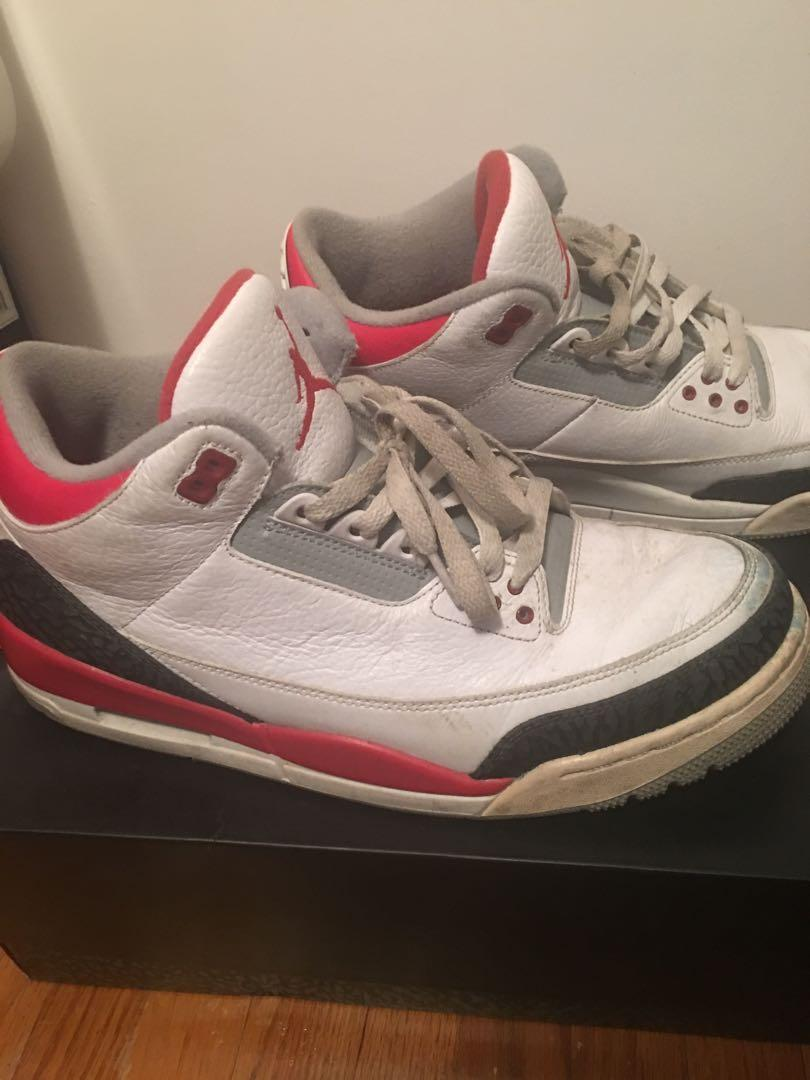 Jordan retro 3 and Nike shoes for sale! Selling as a bundle