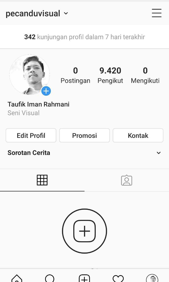 Jual murah akun instagram 9k+