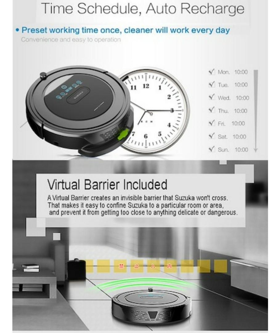 [Local Warranty] Suzuka 5-in 1 Vacuum and Mopping Robot