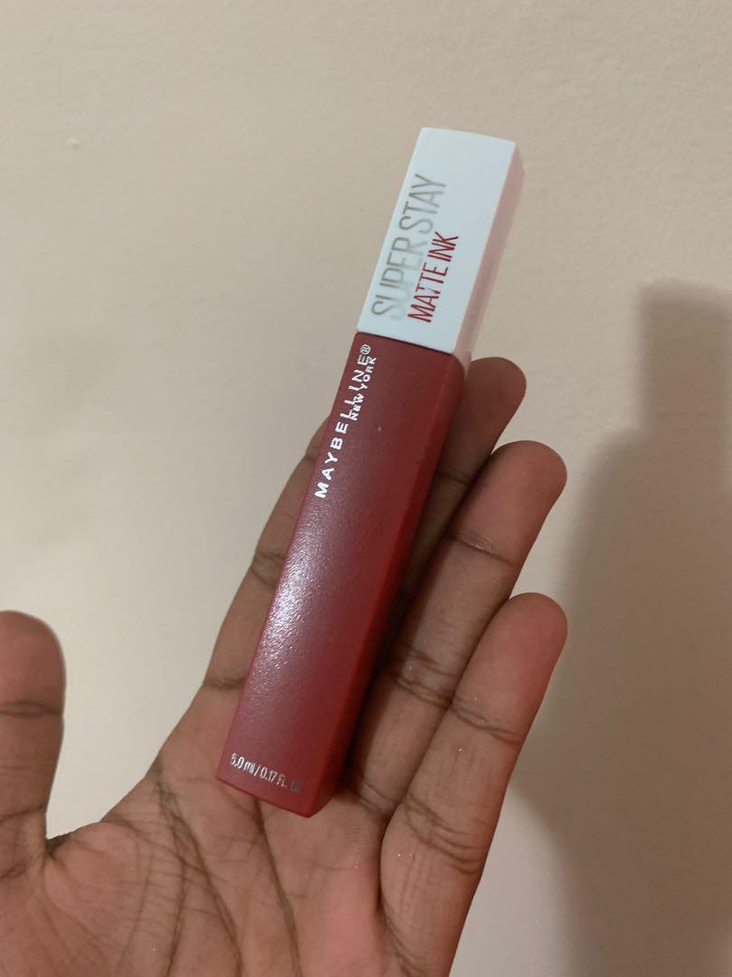 Maybelline Super Stay Matte Lipstick Shade Ground Breaker Brand New