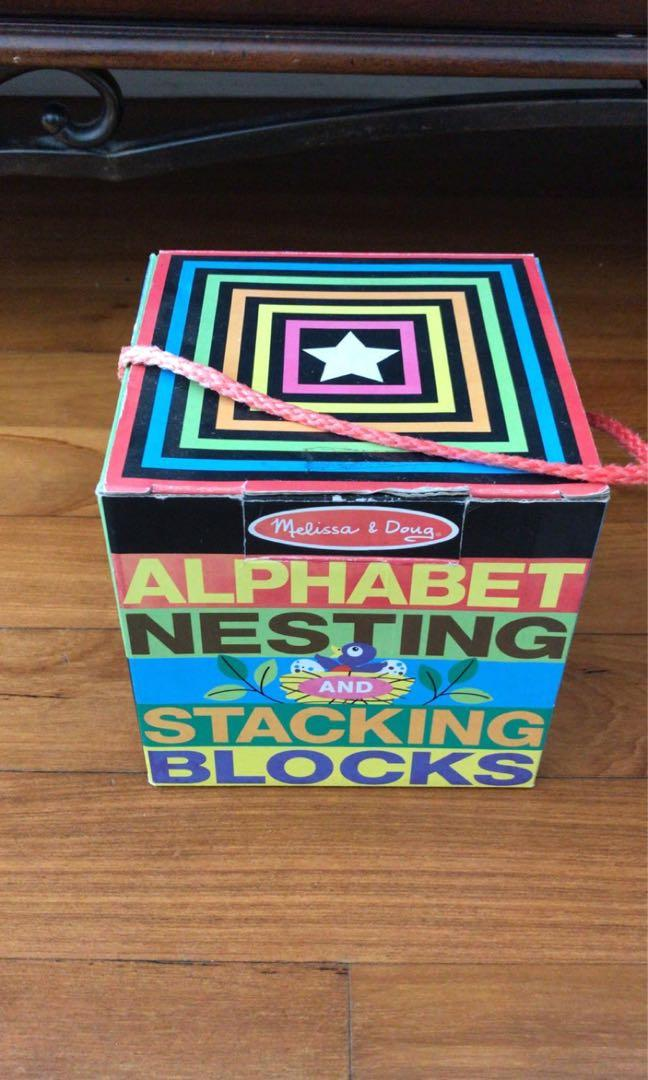 Melissa And Doug And Seuss Nesting Blocks On Carousell