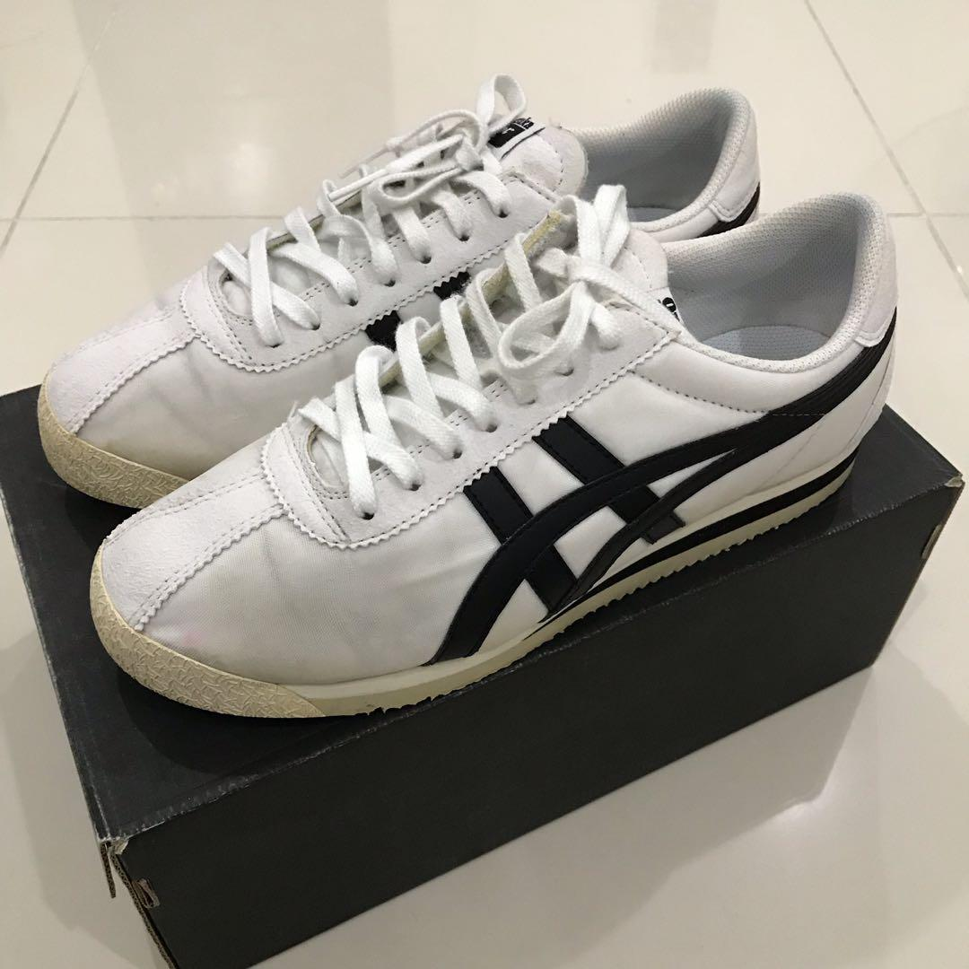 online store a900d 4350d Onitsuka Tiger White/Black, Men's Fashion, Footwear ...