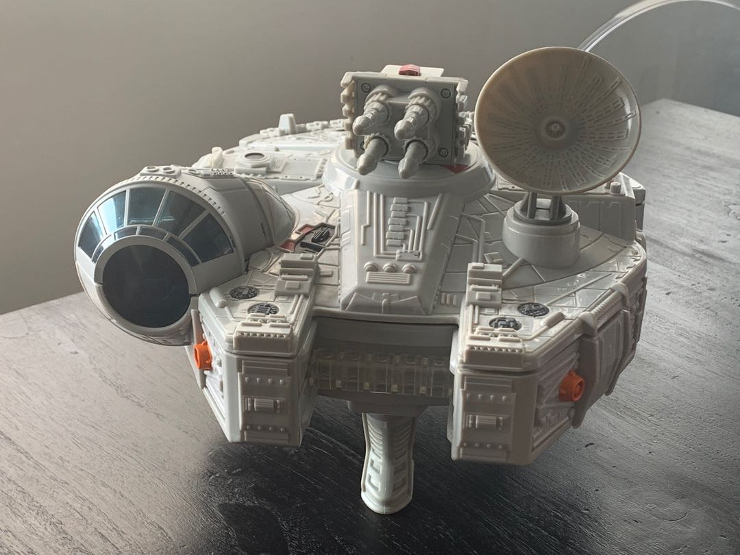 Playskool Star Wars Galactic Heroes Han Solo A New Hope Falcon