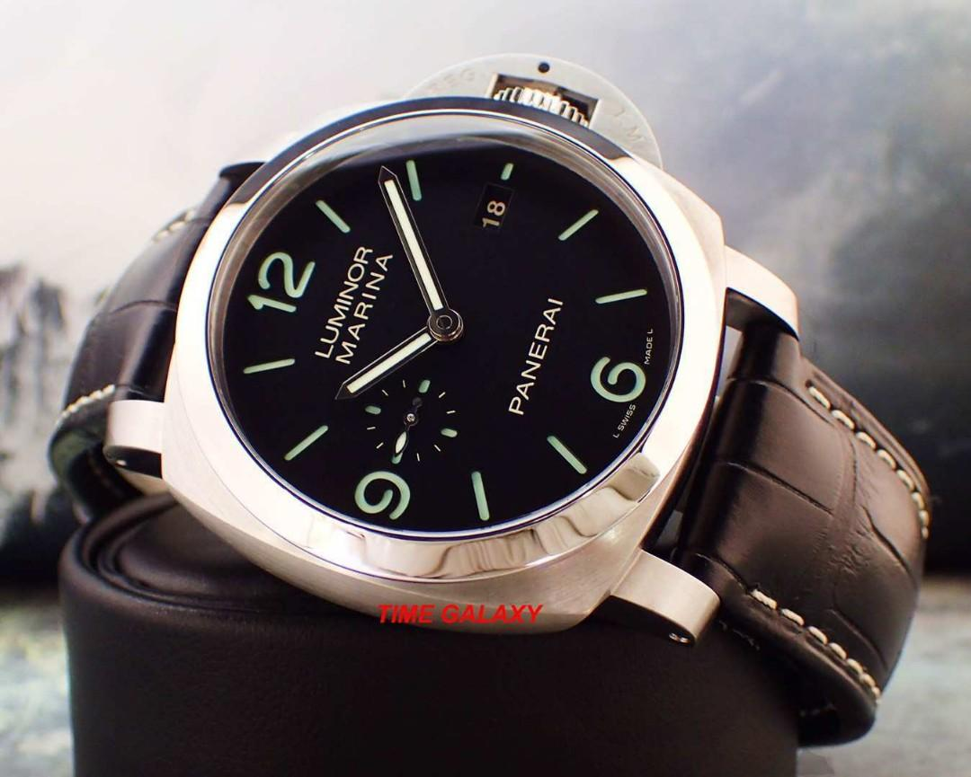 Preowned PANERAI Luminor Marina 1950 3days Auto in-house 44mm stainless steel men's watch.