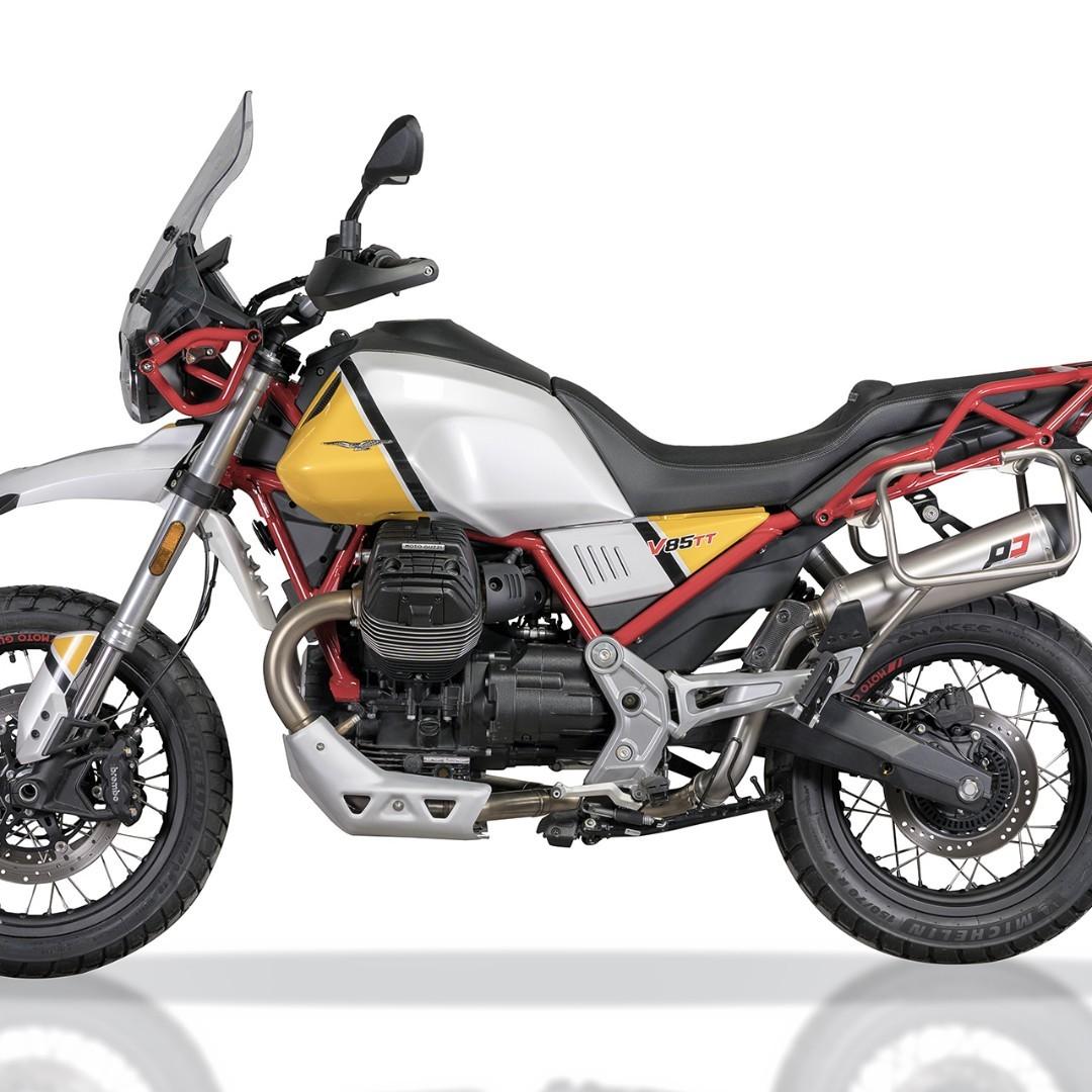 QD Exhaust Systems Singapore Moto Guzzi V85TT 2018 2019 Euro 4 ! Ready  Stock ! Promo ! Do Not PM ! Kindly Call Us ! Kindly Follow Us !