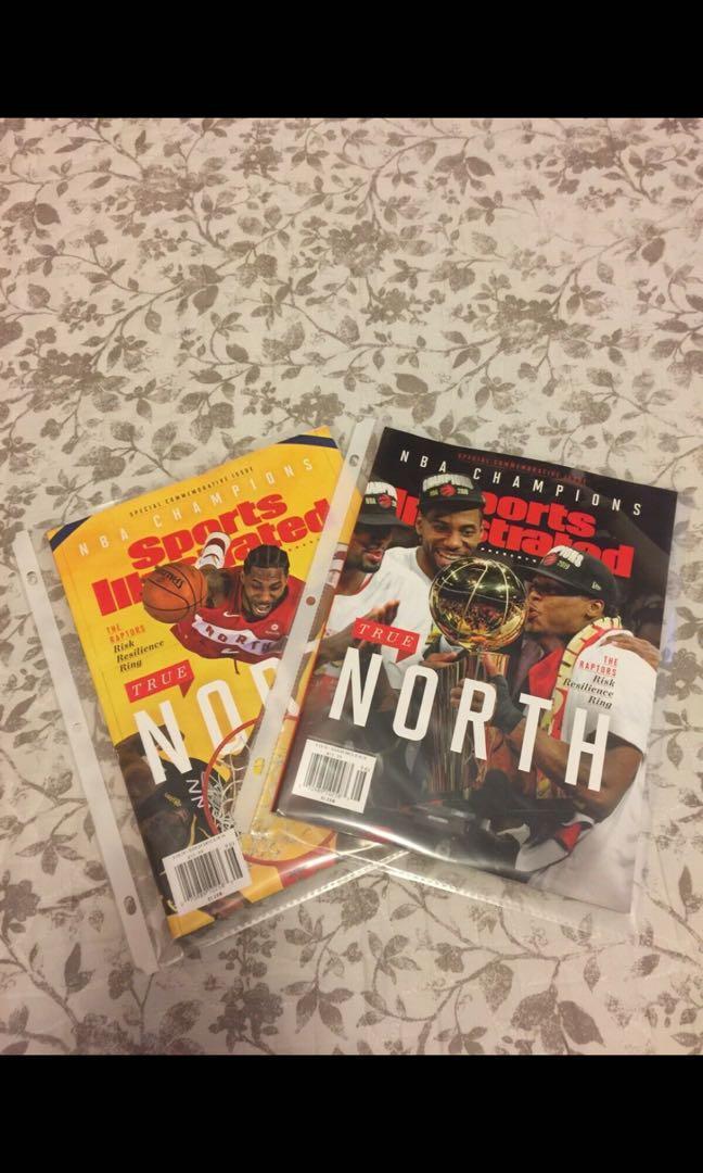 Raptors NBA Champions Special Commemorative Issue Magazine