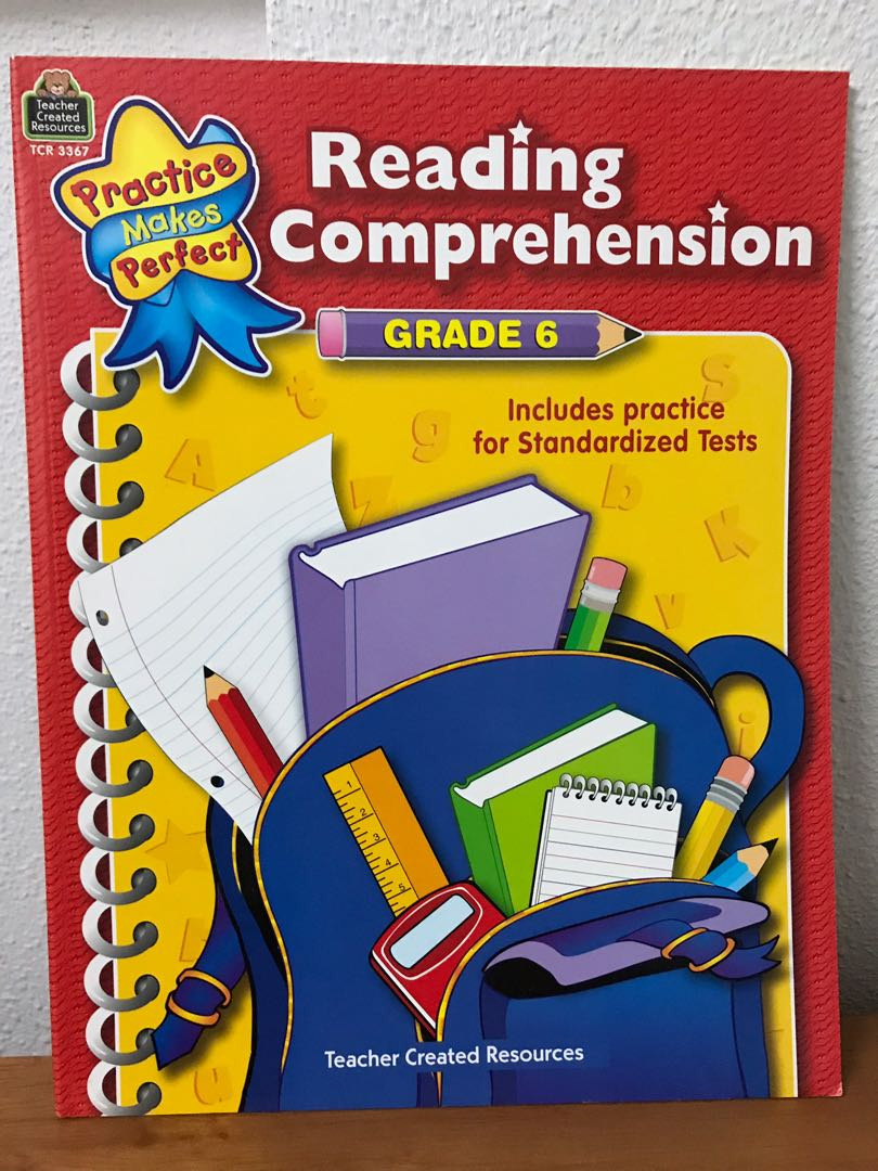 Reading comprehension teacher created resources not scholastic Evan Moor  Primary School book