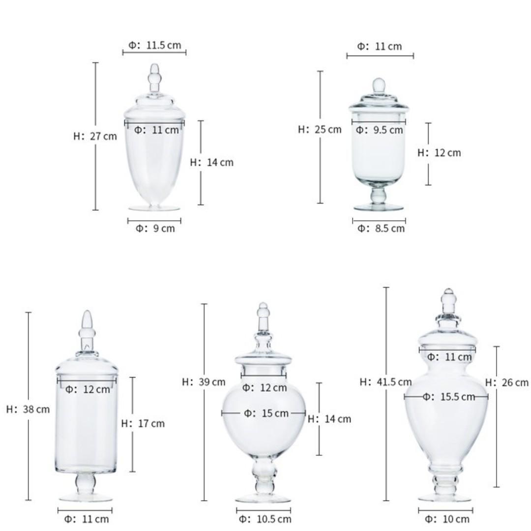 RENTAL: D122 DESSERT GLASSWARE