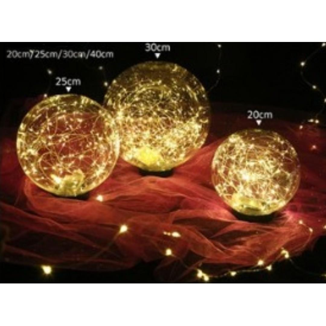 RENTAL: D204B FAIRY LIGHT BALL AISLE