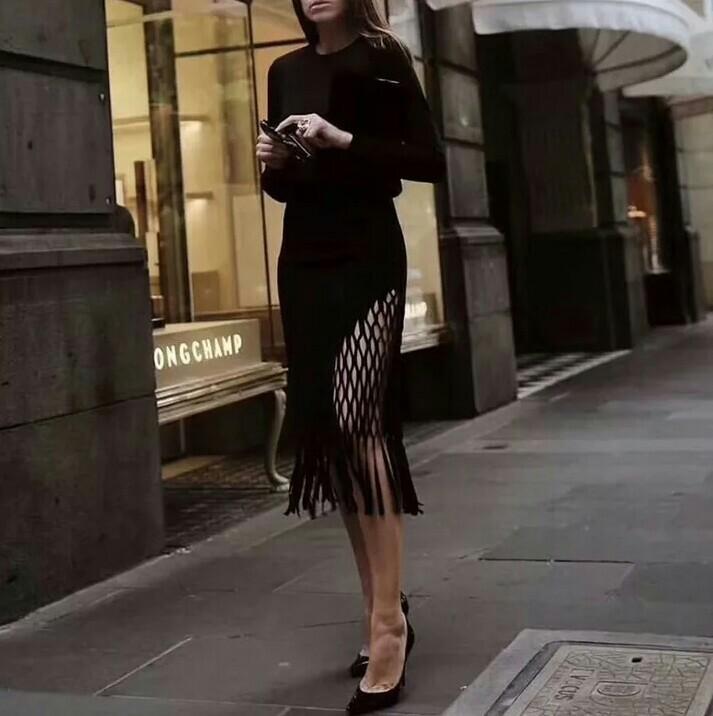Sass & Bide Gorgeous tassel high waist skirt. Never worn.