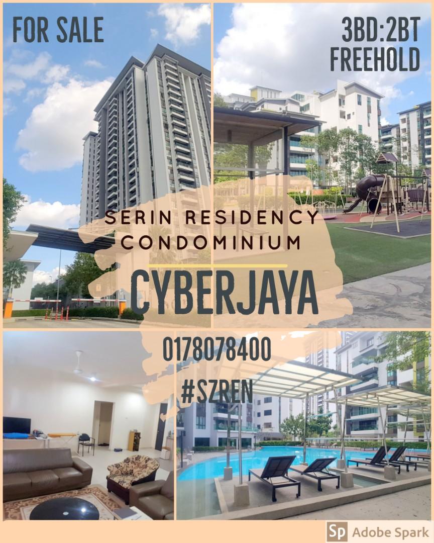 Serin Residency Condominium, Cyberjaya (Offer Price)