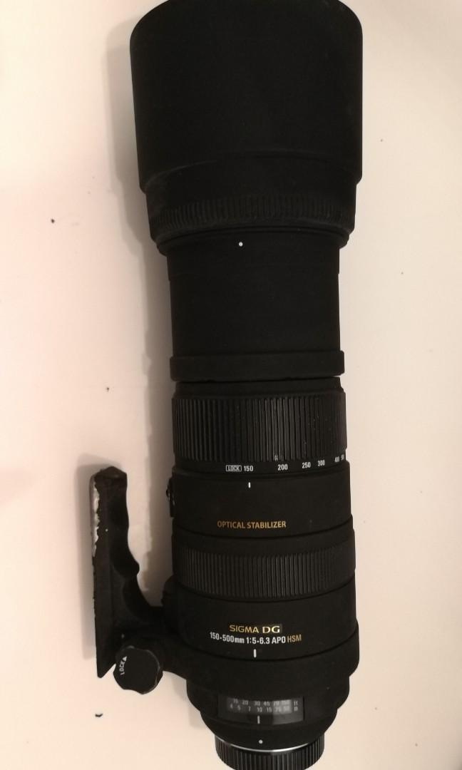 Sigma DG 150-500mm 1.5-6.3 APO HSM (Nikon Mount)