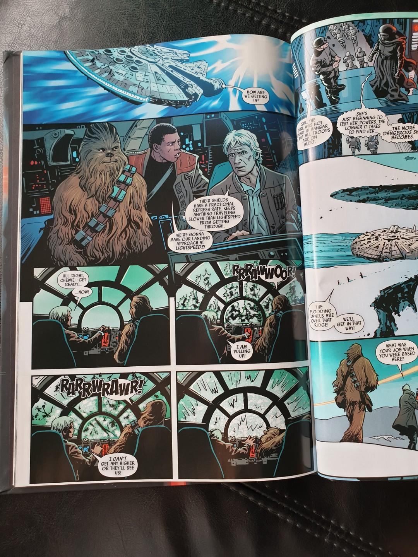 Star Wars: The Force Awaken Adaptation
