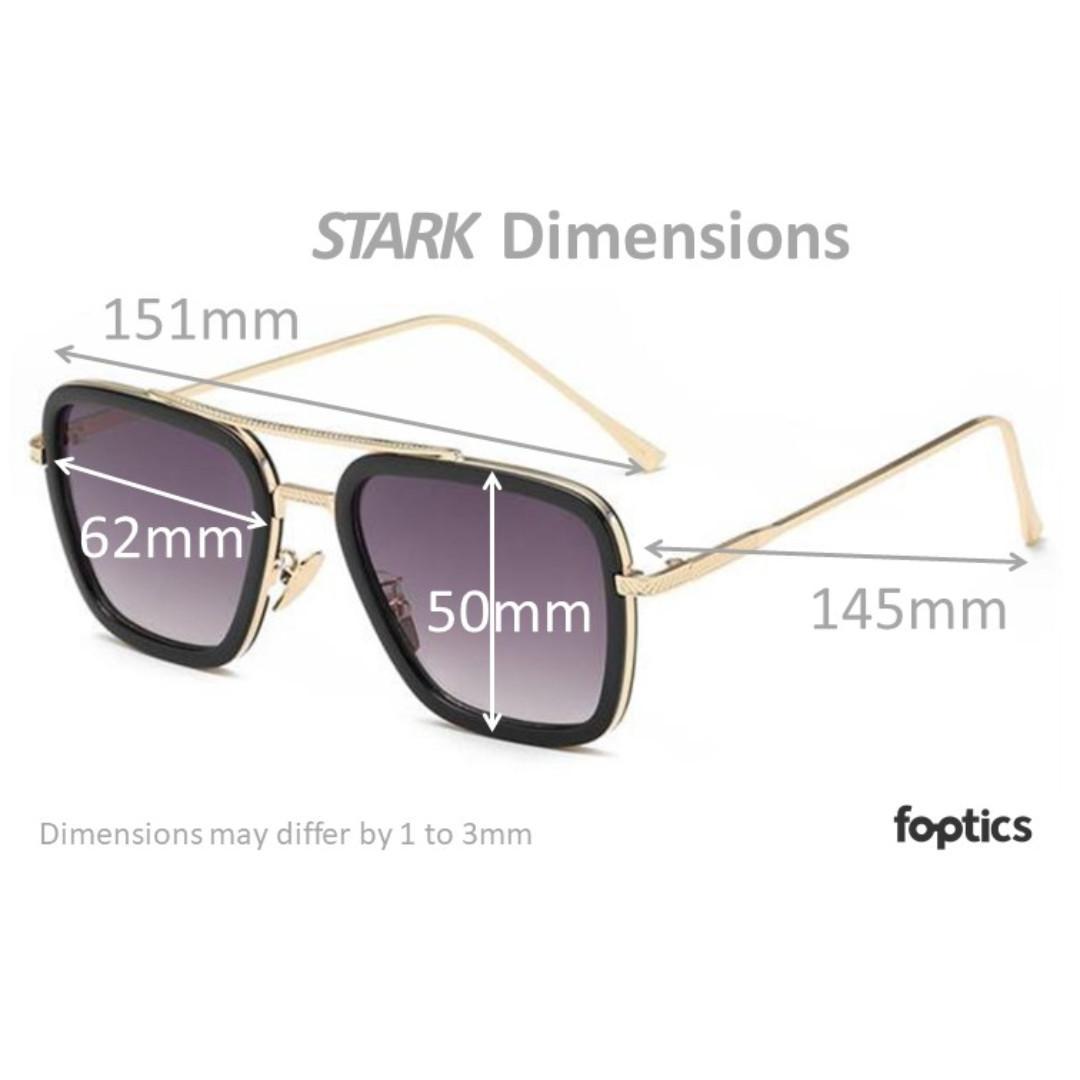 STARK in Clear - foptics Eyewear - Prescription Glasses in Singapore