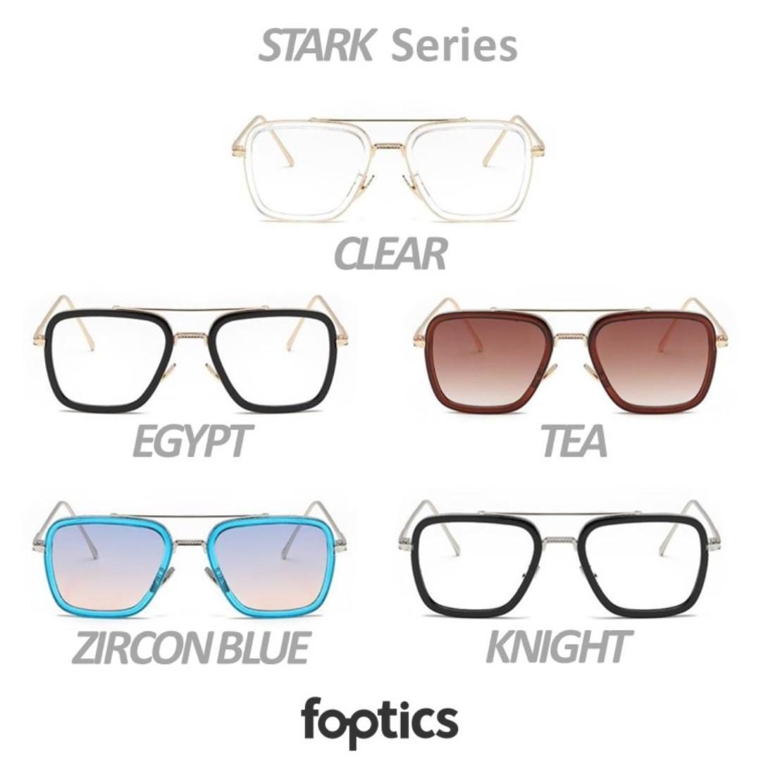 STARK in Zircon Blue - foptics Eyewear - Prescription Glasses in Singapore