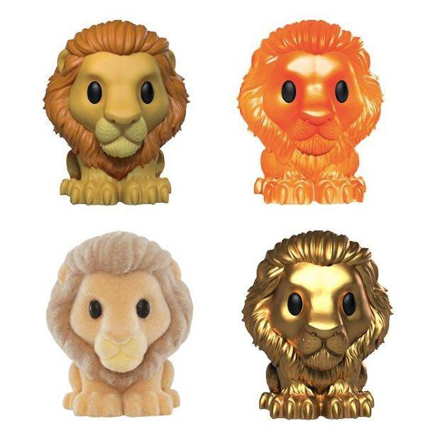 Sunset Simba Orange The Lion King Woolworths Ooshie - EXTREMELY RARE & Brand New