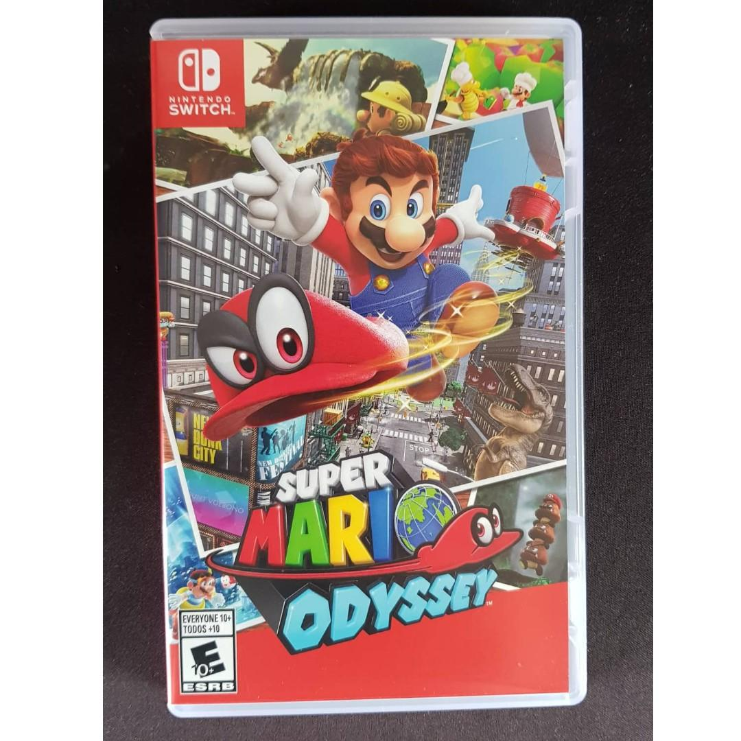 Super Mario Odyssey For Nintendo Switch On Carousell