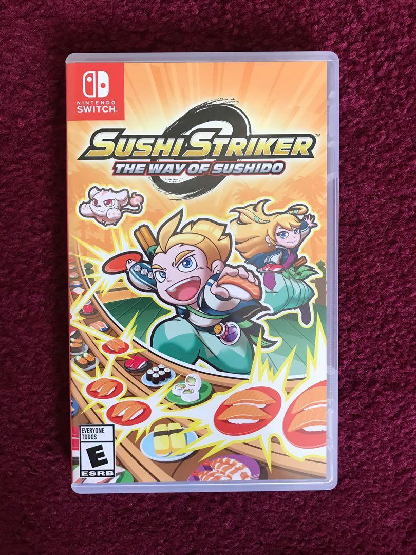[Nintendo Switch] Sushi striker the way of sushido