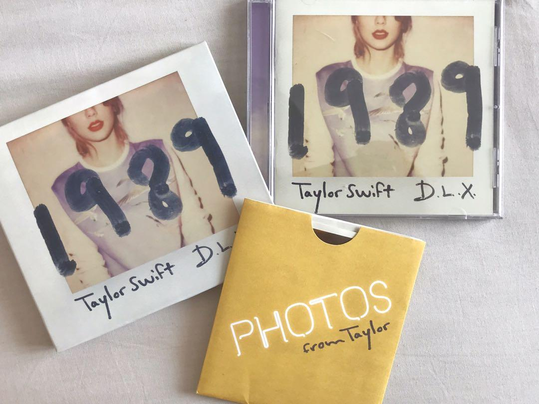 Taylor Swift 1989 Deluxe Album Music Media Cds Dvds Other Media On Carousell