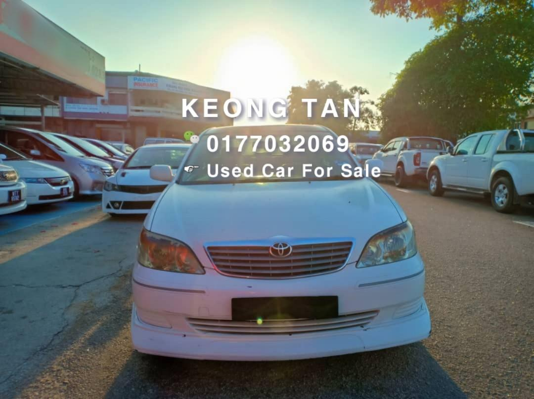 TOYOTA CAMRY 2.0AT E SPEC 2003TH🎉JUAL CASH SHJ💲Rm17,300 Only‼ Lowest Price InJB 📲 Keong‼🤗