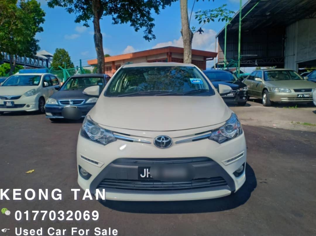 TOYOTA VIOS 1.5AT G FULL SPEC FACELIFT 2016TH JohorPlate/Leather/DVD Touch Screen/Low Mileage Cash💰OfferPrice💲Rm56,500 Only‼ Lowest Price InJB 🎉📲 Keong‼🤗