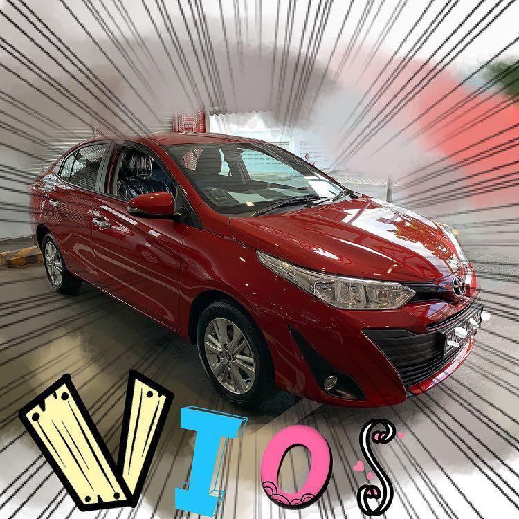 Toyota Vios Super Red Color