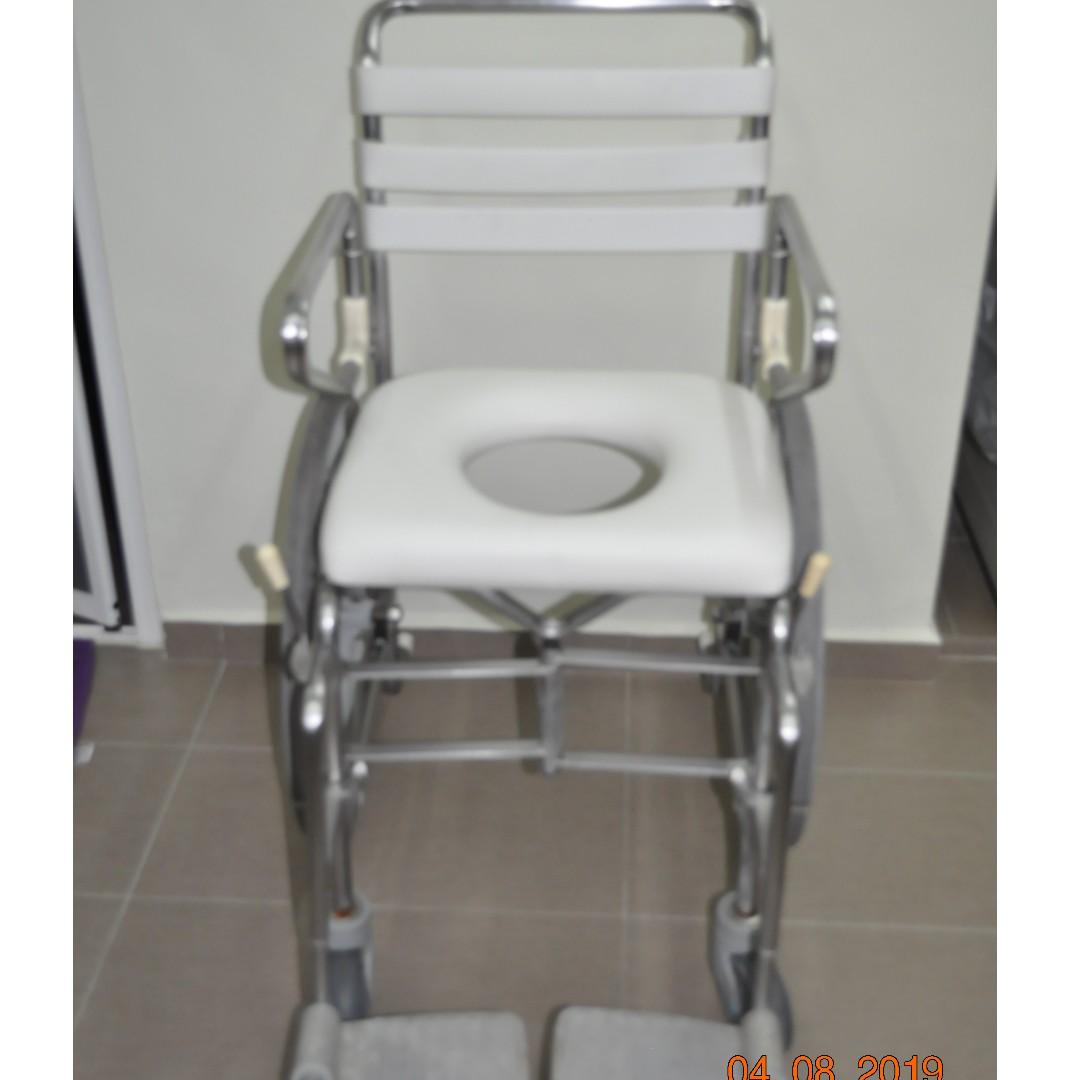 Travel Commode Wheelchair for shower