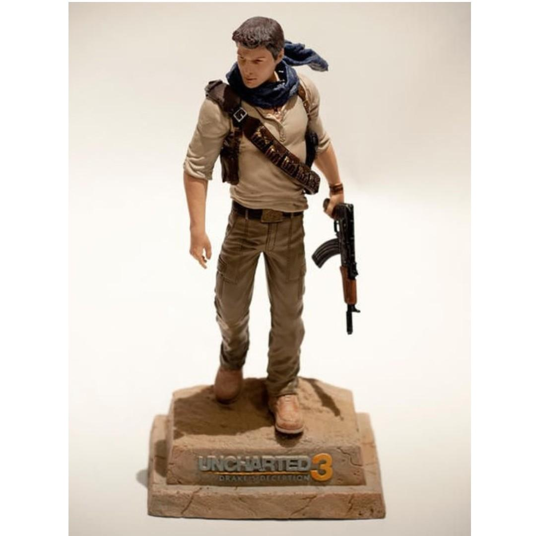 Uncharted 3 Nathan Drake Statue By Sideshow Collectibles Bnib