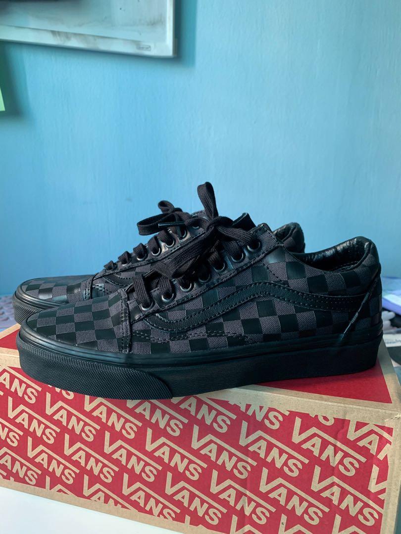 vans old skool high density sneakers
