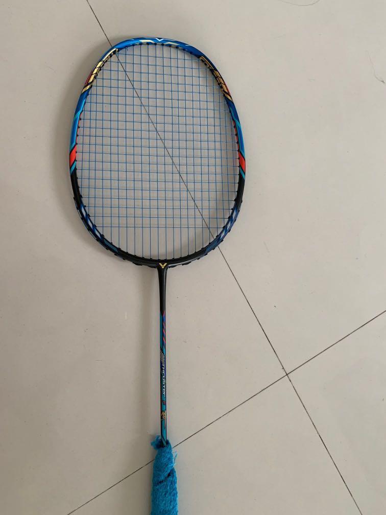 Badminton Racket Claw II VICTOR THRUSTER F TK-FC II Head Heavy Powerful 4UG5