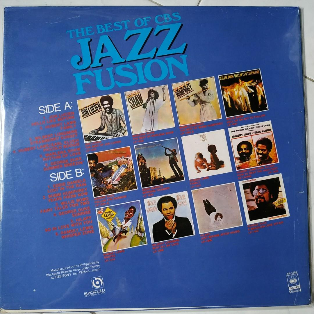 Vinyl LP : The Best of CBS Jazz Fusion
