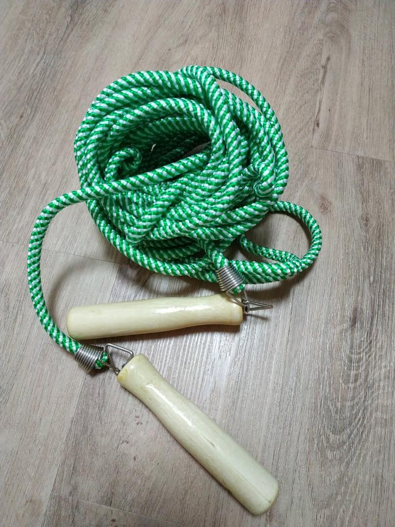 Wedding gatecrash jumping rope