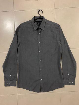 🚚 H&M Long sleeves (grey)