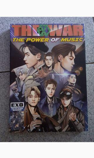 Album Exo The War fullset no poster
