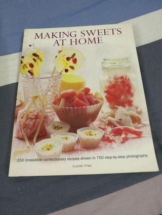 Making Sweets at Home Recipe Book