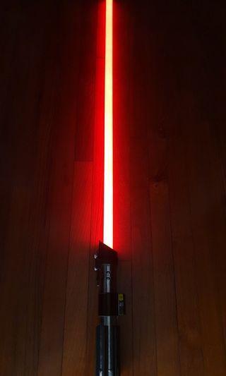 Star Wars FX  Lightsaber Darth Vader black series 02