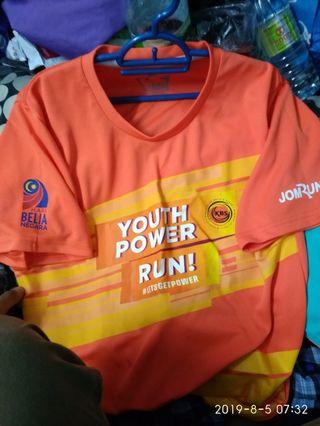 Youth power run Marathon jersey size M