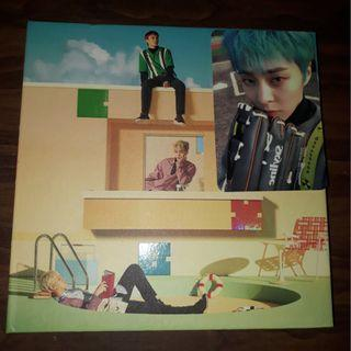 wts asap cbx blooming days album with xiumin pc