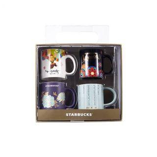 Korea Starbucks Demi Mug Set (4pc)