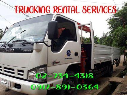 Boom Truck for Rent Services in Luzon NS