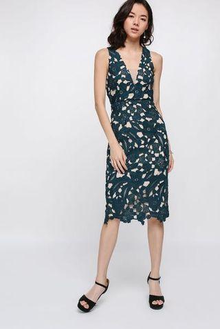 Love bonito Donette Overlay Midi Dress