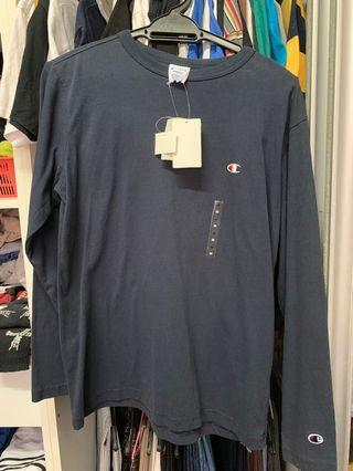 Champion Longsleeve Japan Navy Blue