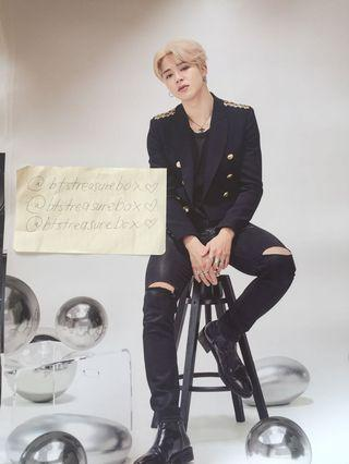 BTS SPEAK YOURSELF JIMIN POSTER OFFICIAL MERCHANDISE