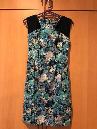 Blue Floral Dorothy Perkins Dress