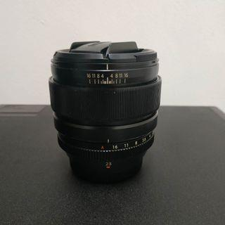 Fujifilm 23mm f1.4 xf